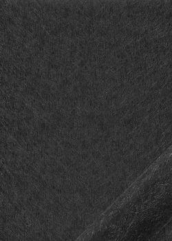"Simili cuir ""Carat"" black (50x70)"
