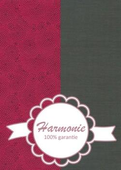 HARMONIE DUO Drops framboise et noir