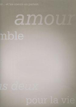 """Papier scrapbooking """"Amour"""" 70024 (30x30)"""
