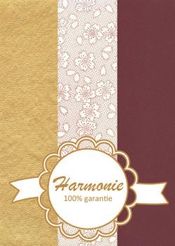 HARMONIE TRIO Hanami piment et or