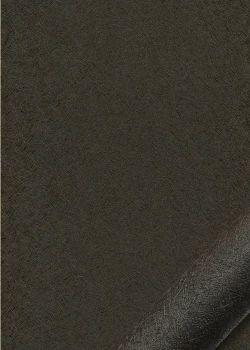 """Simili cuir """"Carat"""" dark brown (50x70)"""