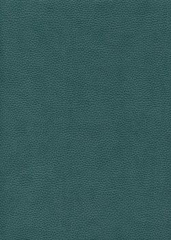 "Simili cuir ""Buffle grainé"" bleu paon (70x100)"