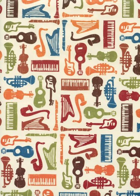Les instruments colorés (70x98)