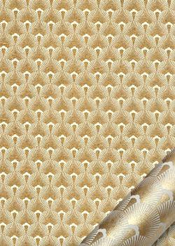 Mazurka ivoire et or (50x70)