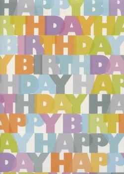Happy birthday acidulé (68x98)