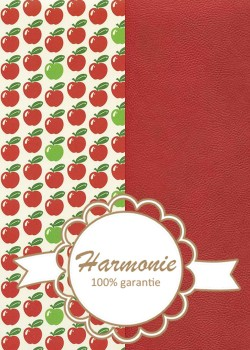 HARMONIE DUO Les pommes ambiance rouge