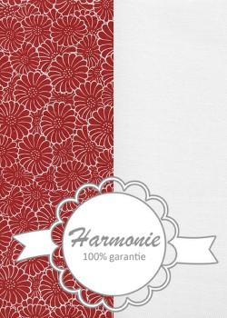 HARMONIE DUO Floral blanc et rouge