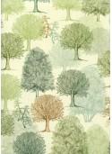 Les arbres ambiance verte (70x100)