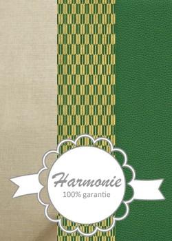 HARMONIE TRIO Chic vert et or