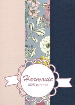 HARMONIE TRIO Floral coloré ambiance bleuté