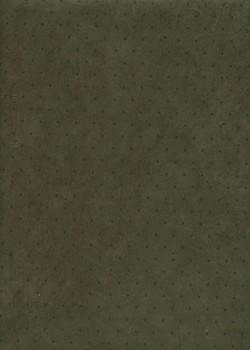 Papier lokta plumetis noir fond kaki (50x75)