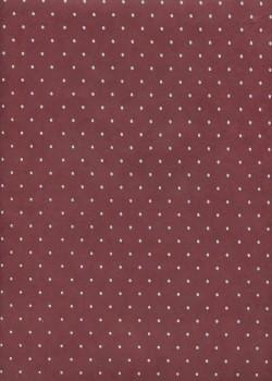 Papier lokta plumetis gris clair fond bordeaux (50x75)
