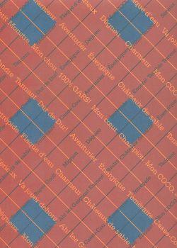 "Papier scrapbooking ""fantaisie"" 70009 (30x30)"