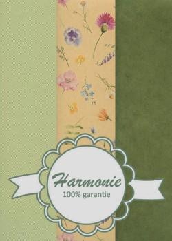 HARMONIE TRIO Les fleurs d'été fond beige
