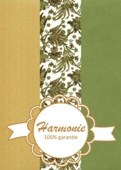HARMONIE TRIO Feuillage vert et or