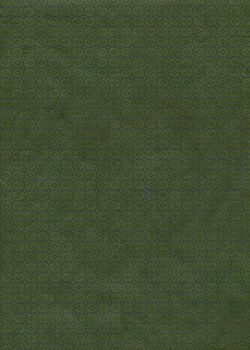 Lokta rosaces de fleurs prune fond brun (50x75)
