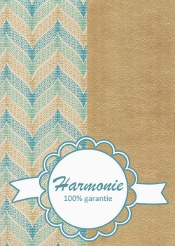 HARMONIE DUO Accolades menthe turquoise et or