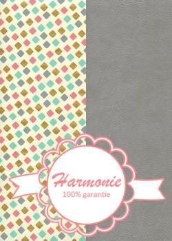 HARMONIE DUO Confettis multicolore réhaussé or