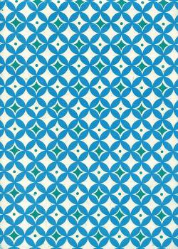 Papier lokta puzzle pourpre (50x75)