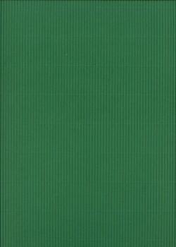 Carton ondulé micro cannelure vert anglais (50x70)