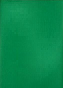 Carton ondulé micro cannelure vert billard (50x70)