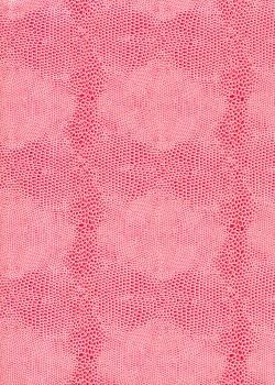 Lot de 10 feuilles PETIT FORMAT imitation lezard rose (28x35)