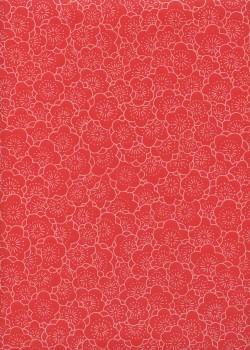 HANA fond rouge (54,5x78,5)