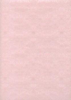 """Ornements"" blanc nacré fond rose (54x78)"