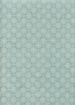 Papier lokta design graphique fond bleu tendre (50x75)