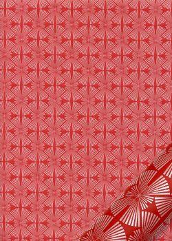 Mikado fond rouge (54x79)