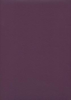 "Simili cuir ""Capra"" aubergine"