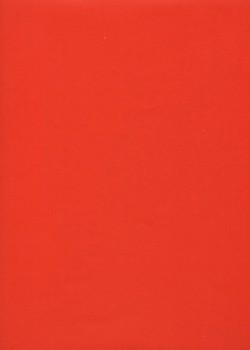 """Simili cuir """"Tonic"""" rouge feu (50x65)"""