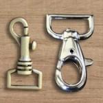 Mousquetons et cadenas
