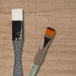 Pinceaux brosse plate
