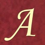 "Alphabet ""Romantique"""