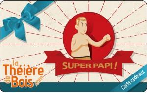 Carte cadeaux Super Papi