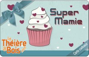 Carte cadeaux Super Mamie