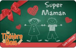 Carte cadeaux Super Maman