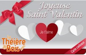 Carte cadeaux Saint Valentin